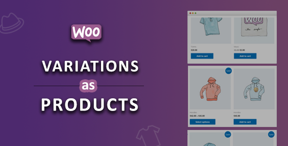 WooCommerce Variations As Products