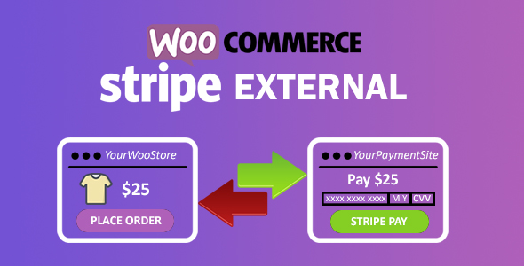 WooCommerce Stripe External