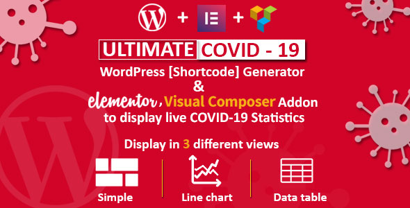 Ultimate Covid-19 – Live Corona Virus Statistics For WordPress